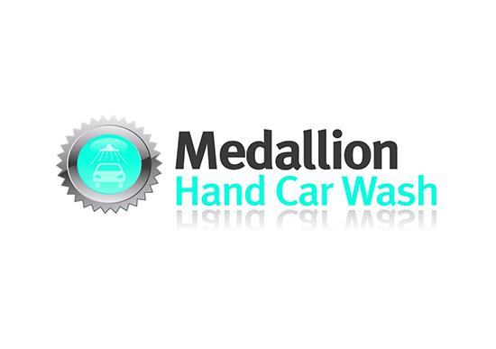 Medallion Hand Car Wash logo
